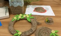 Tận dụng dây thừng làm handmade