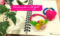 Hướng dẫn làm cột tóc handmade đơn giản