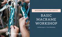 Workshop macrame cơ bản cho người bắt đầu (miễn phí)